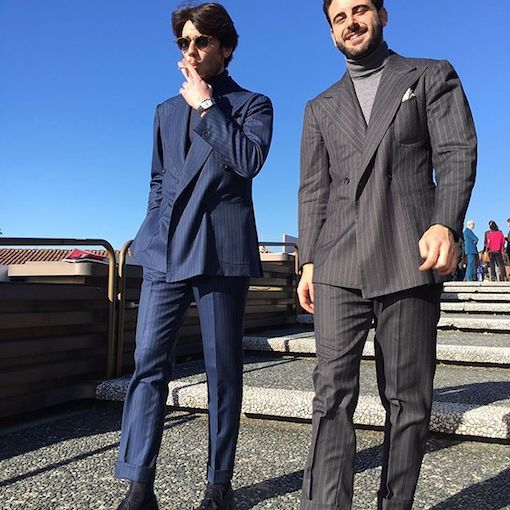 flannel suit