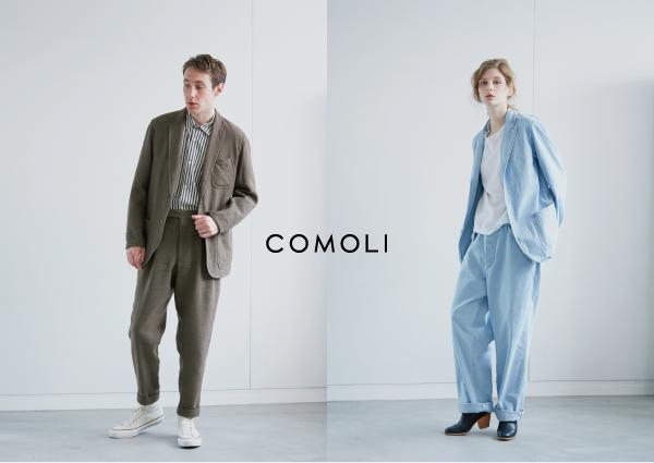 COMOLI,シャツ、コート